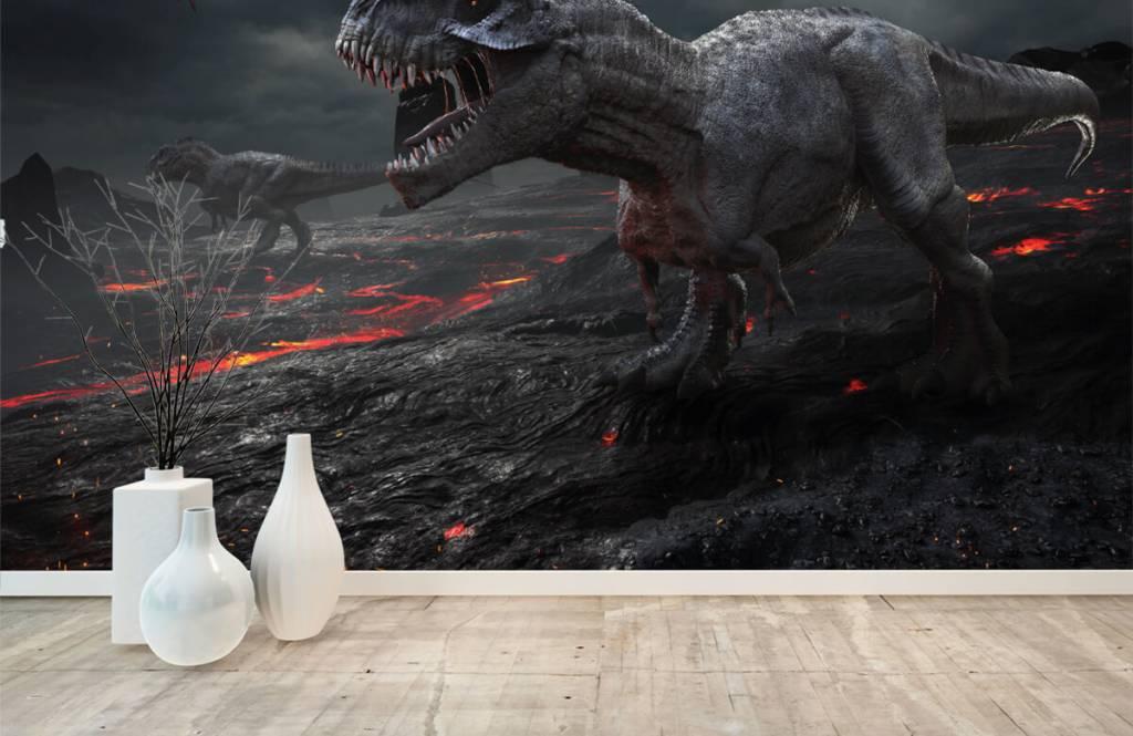Dinosaurier - 3D Dino - Kinderzimmer 5