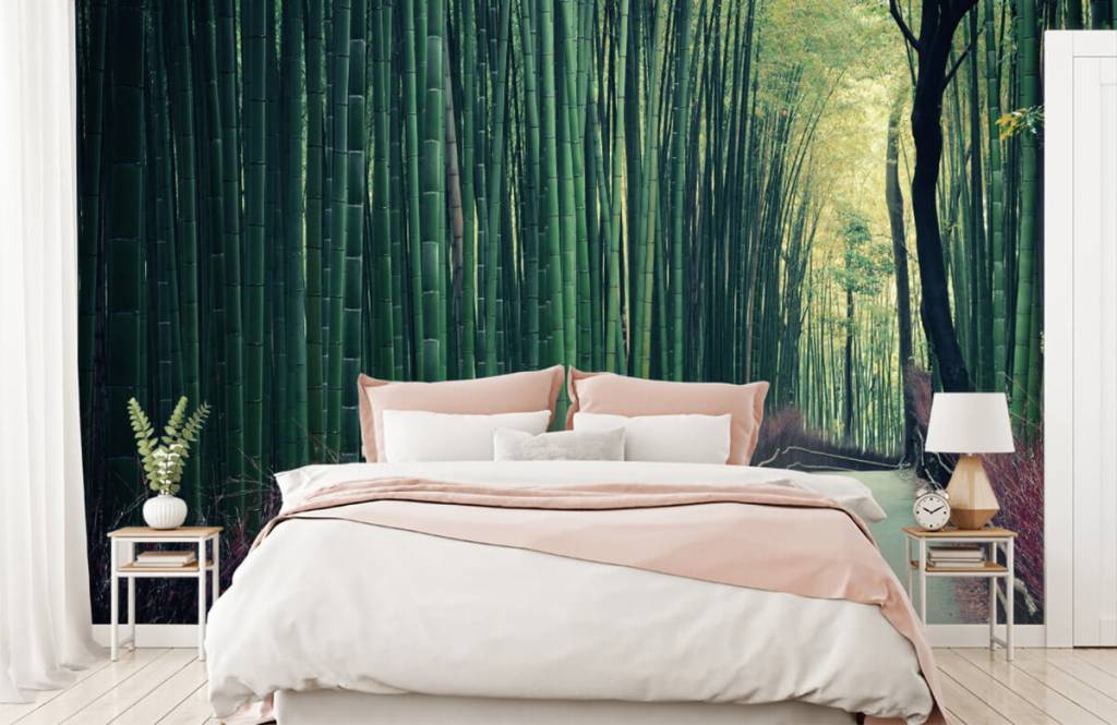 Wald Tapete - Bambuswald - Eingang 1