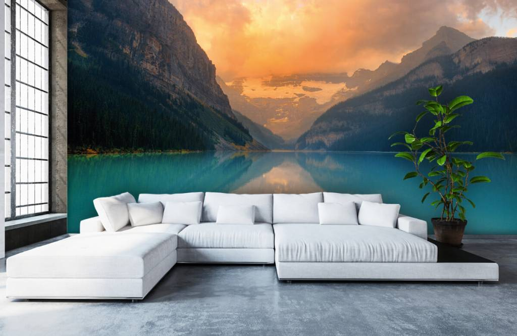 Seen und Gewässer - Vintage Bergsee - Büro 5