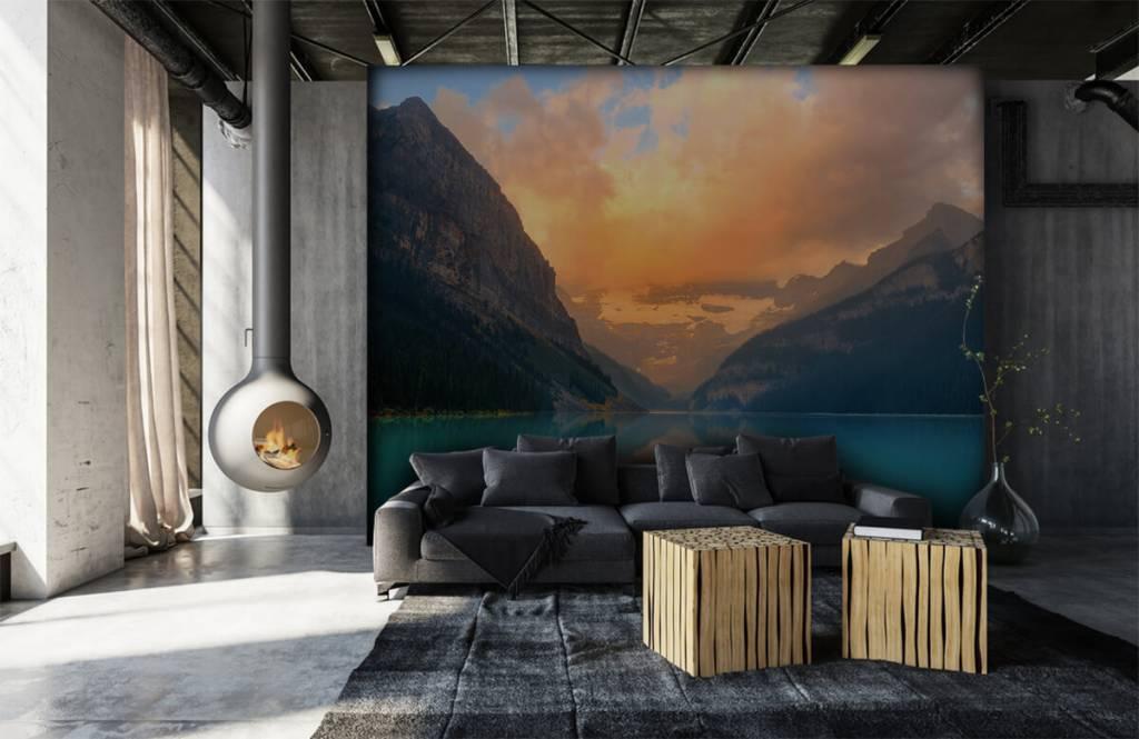 Seen und Gewässer - Vintage Bergsee - Büro 6