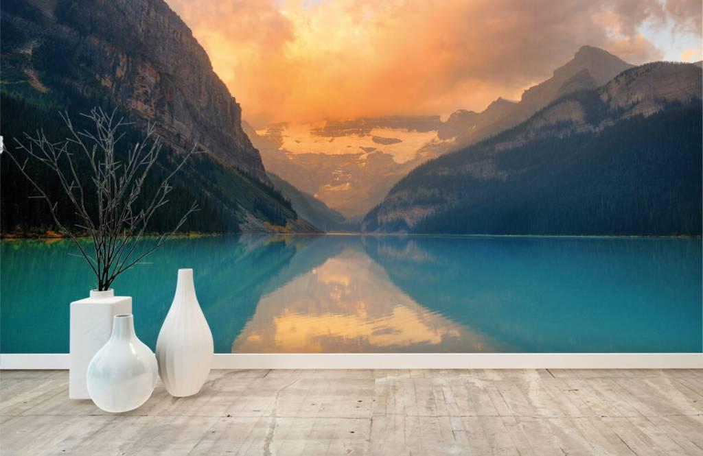 Seen und Gewässer - Vintage Bergsee - Büro 8