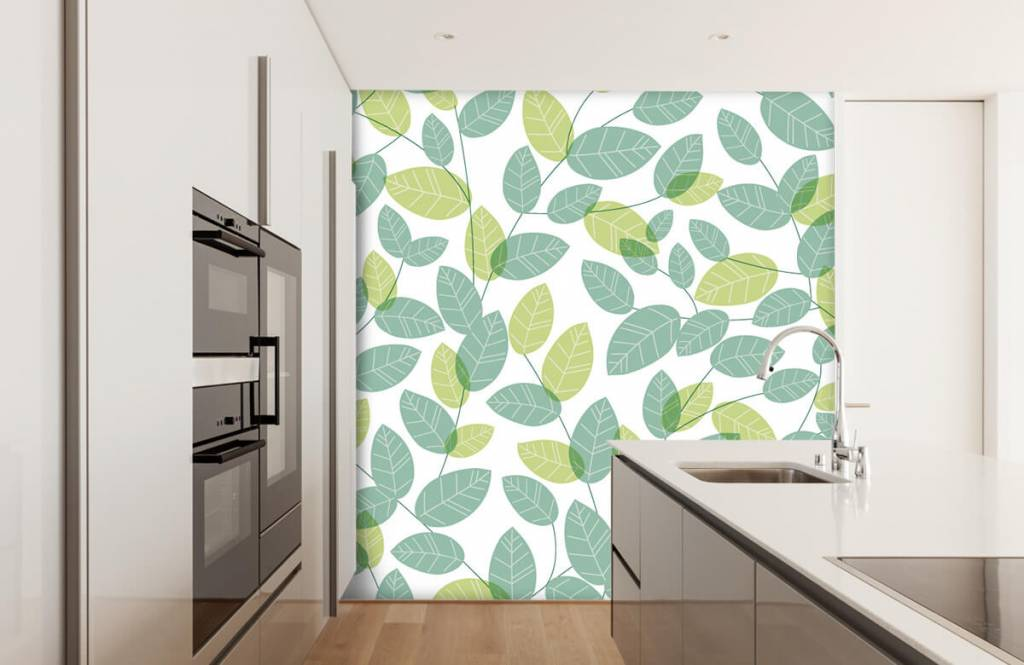 Blätter - Blättermuster - Hobbyzimmer 3