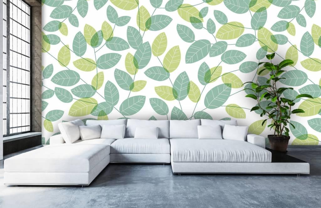 Blätter - Blättermuster - Hobbyzimmer 5