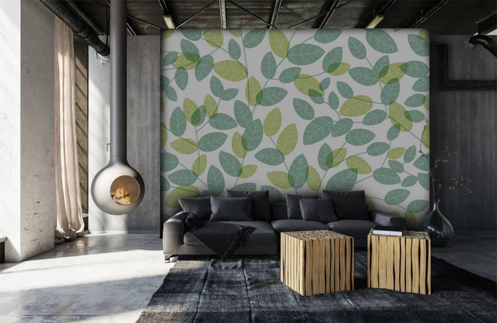 Blätter - Blättermuster - Hobbyzimmer 6