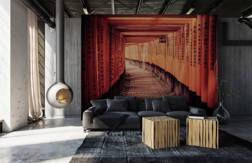 Städte-Tapete - Chinesischer Tunnel - Schlafzimmer 1
