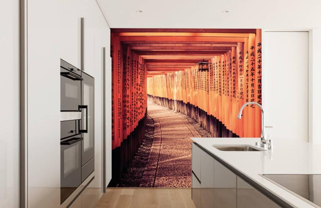 Städte-Tapete - Chinesischer Tunnel - Schlafzimmer 2