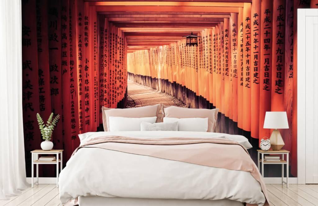 Städte-Tapete - Chinesischer Tunnel - Schlafzimmer 3