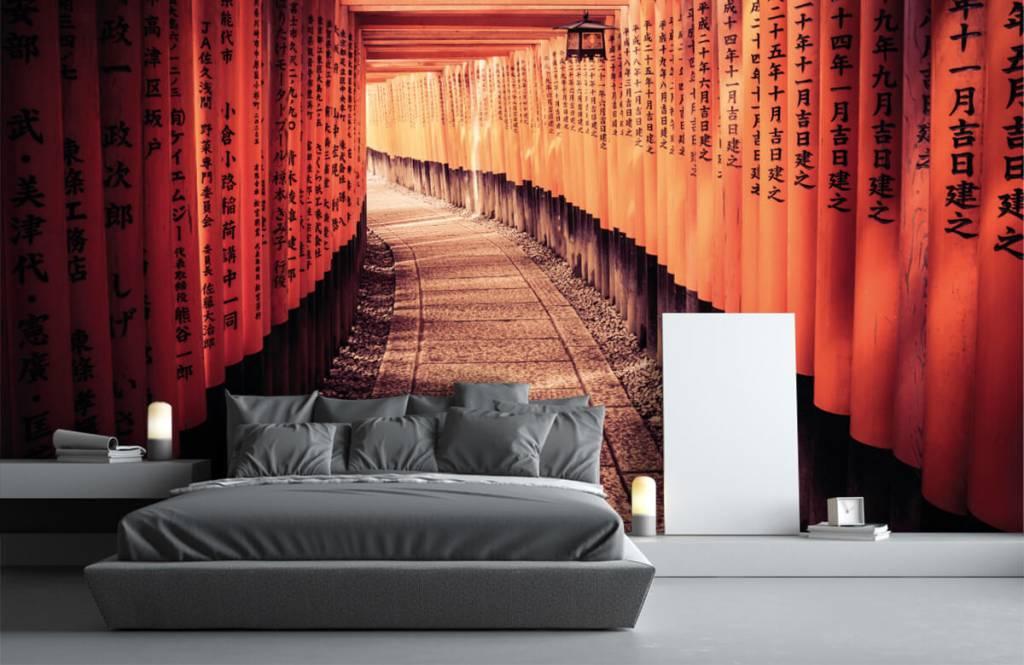 Städte-Tapete - Chinesischer Tunnel - Schlafzimmer 4
