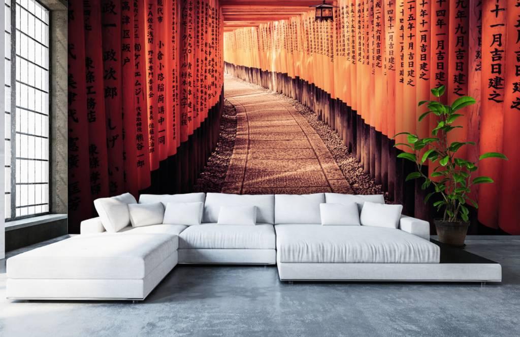 Städte-Tapete - Chinesischer Tunnel - Schlafzimmer 6
