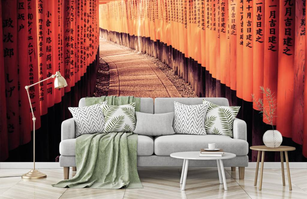 Städte-Tapete - Chinesischer Tunnel - Schlafzimmer 7