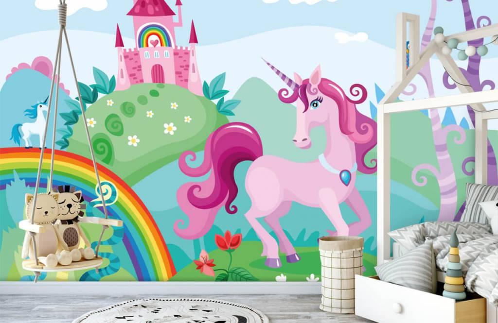Andere - Einhorn mit Schloss - Kinderzimmer 1