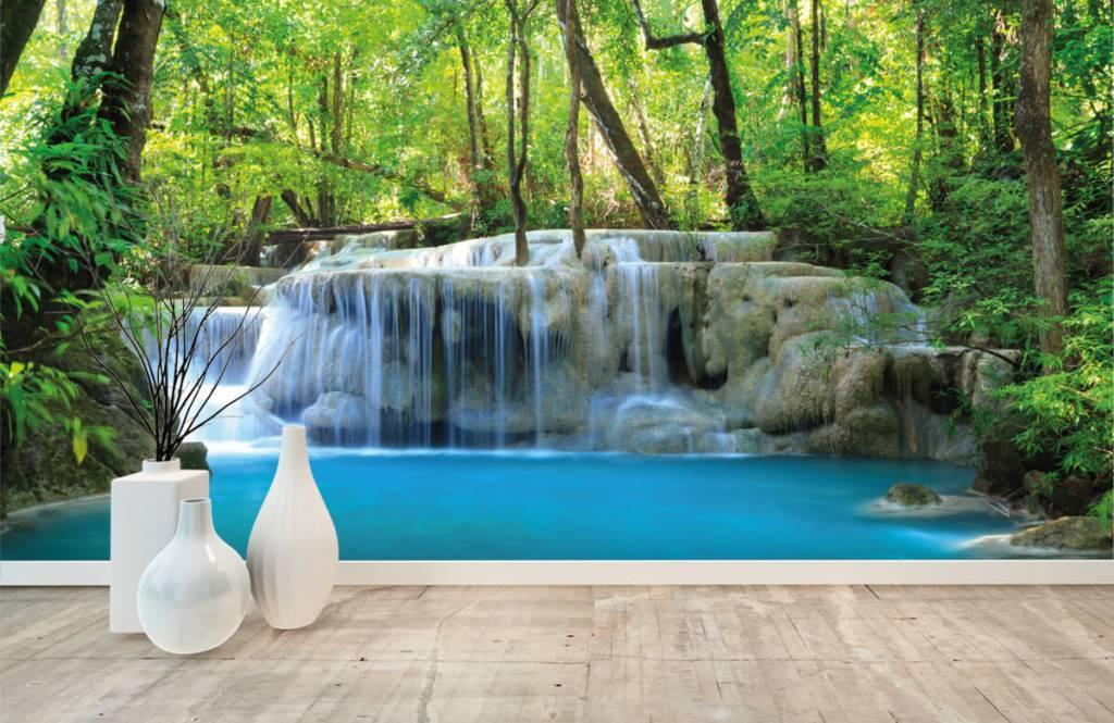 Wasserfälle - Exotischer Wasserfall - Schlafzimmer 1