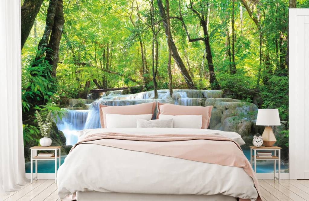 Wasserfälle - Exotischer Wasserfall - Schlafzimmer 2