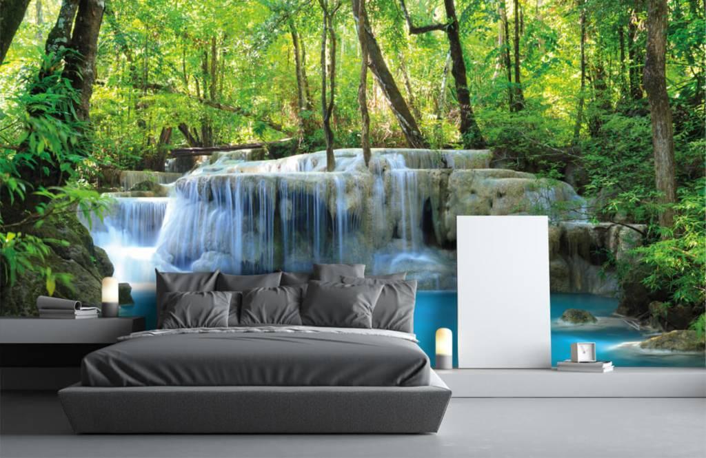 Wasserfälle - Exotischer Wasserfall - Schlafzimmer 3