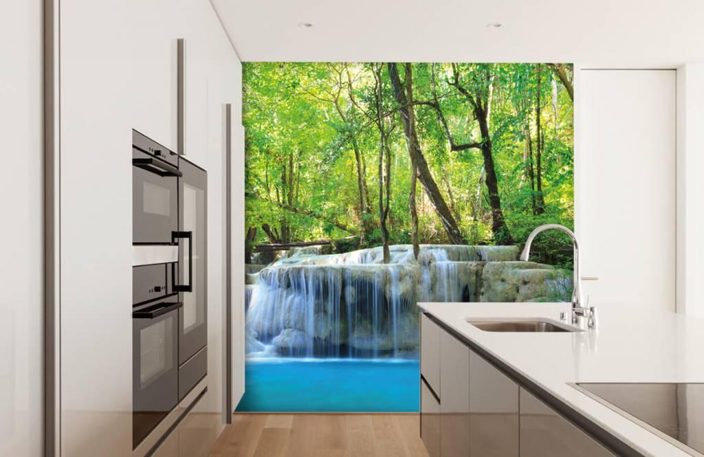 Wasserfälle - Exotischer Wasserfall - Schlafzimmer 4