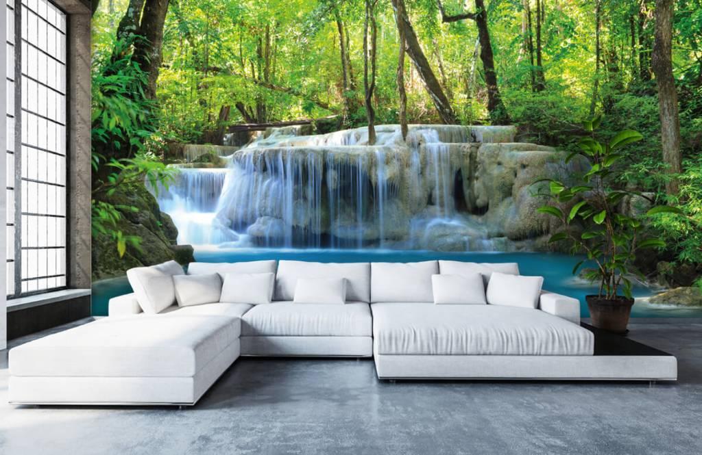 Wasserfälle - Exotischer Wasserfall - Schlafzimmer 6