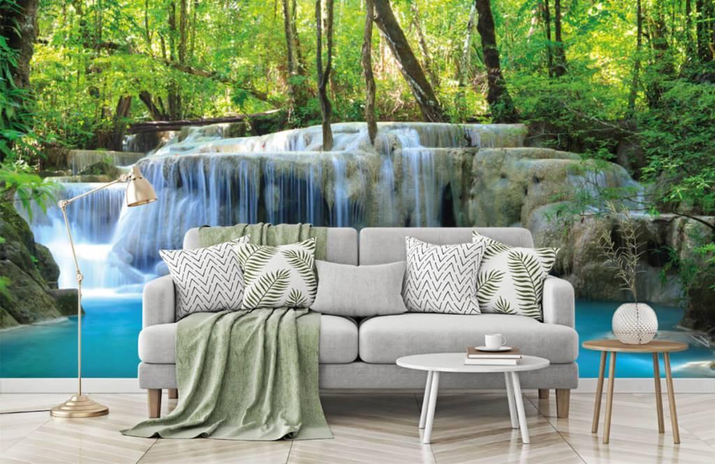 Wasserfälle - Exotischer Wasserfall - Schlafzimmer 8