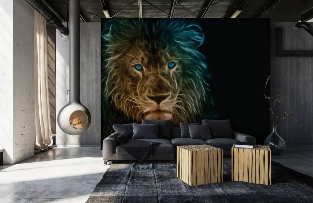 Tiere - Fantasy Löwe - Jugendzimmer 1