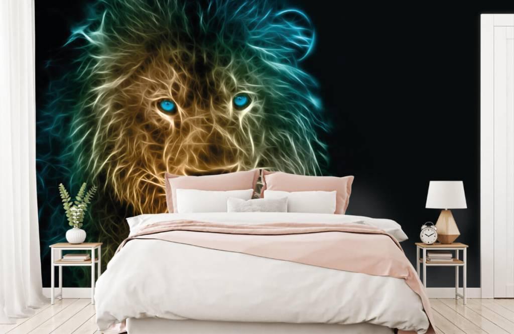 Tiere - Fantasy Löwe - Jugendzimmer 2