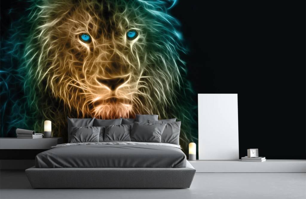 Tiere - Fantasy Löwe - Jugendzimmer 3