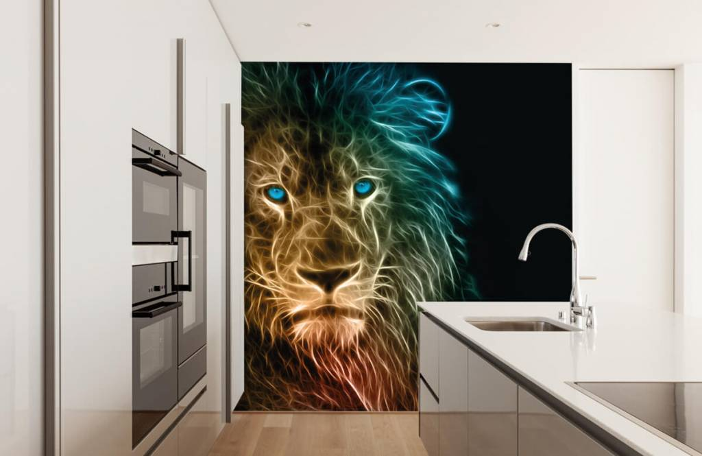 Tiere - Fantasy Löwe - Jugendzimmer 4