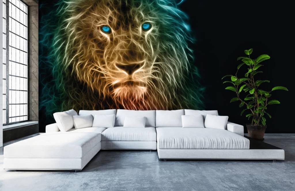 Tiere - Fantasy Löwe - Jugendzimmer 6