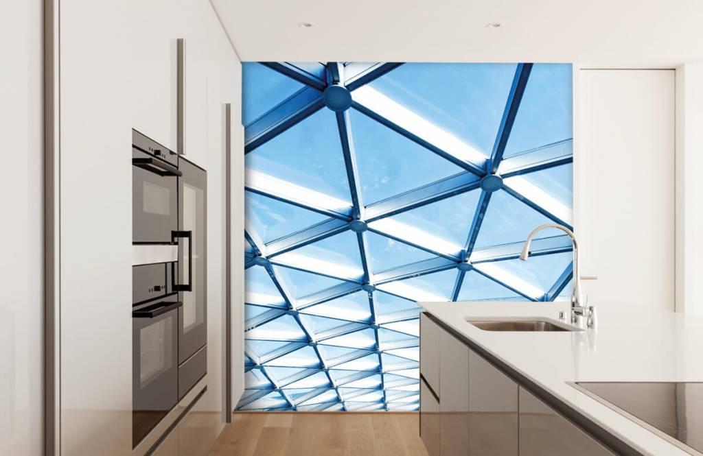 Gebäude - Glasdecke - Eingang 4