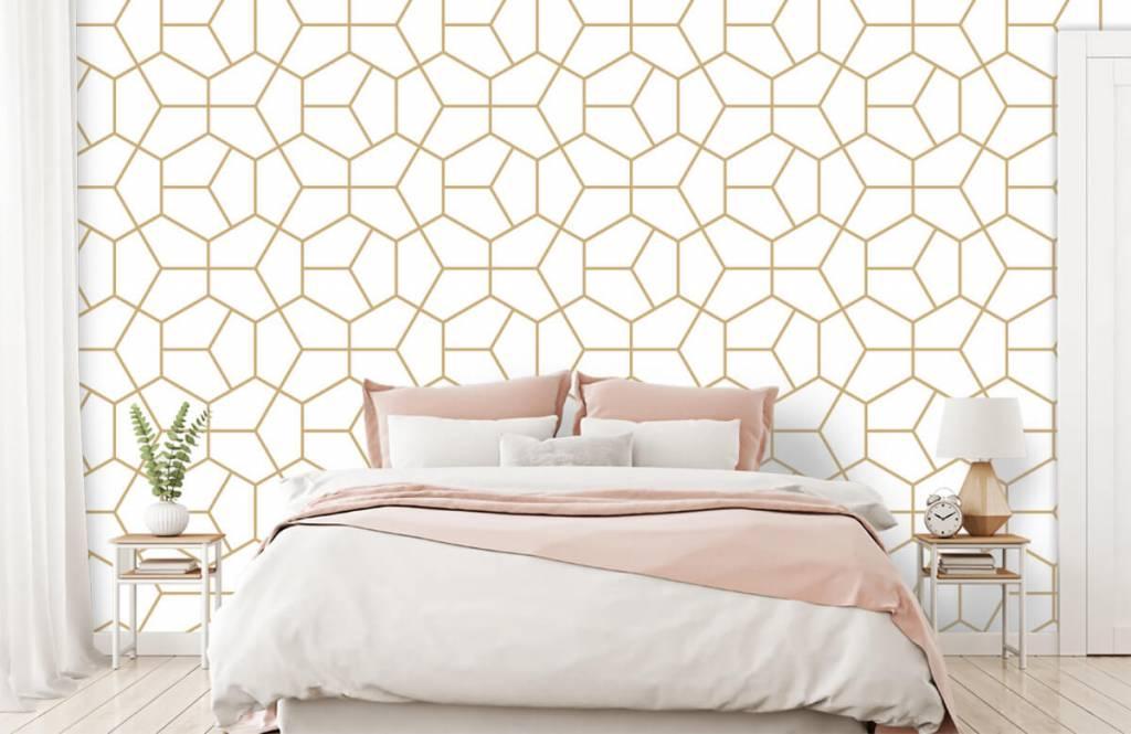 Andere - Geometrisches Gold - Schlafzimmer 1