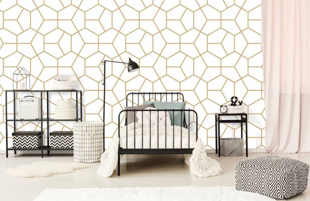 Andere - Geometrisches Gold - Schlafzimmer 2