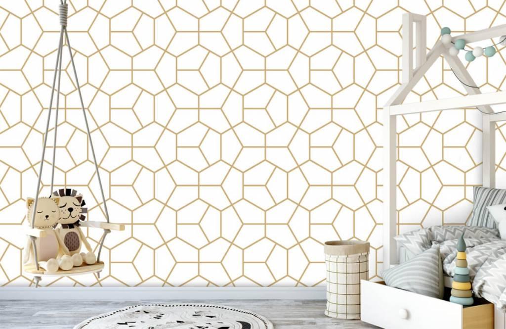 Andere - Geometrisches Gold - Schlafzimmer 3