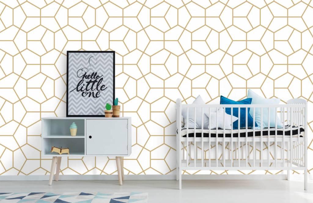 Andere - Geometrisches Gold - Schlafzimmer 4