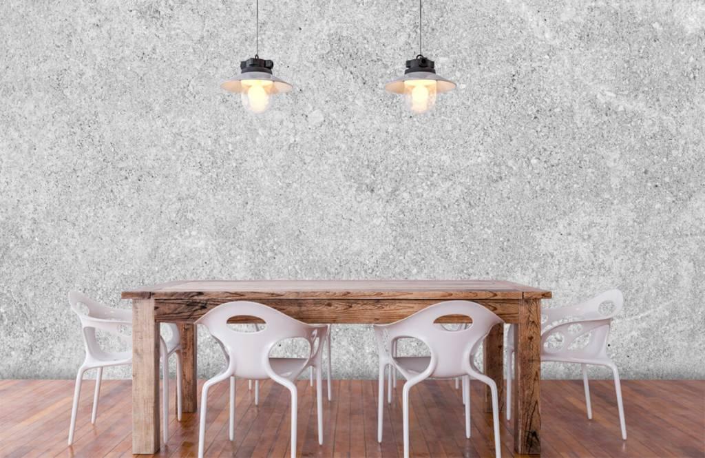 Betonoptik Tapete - Betonstruktur - Küchen 5