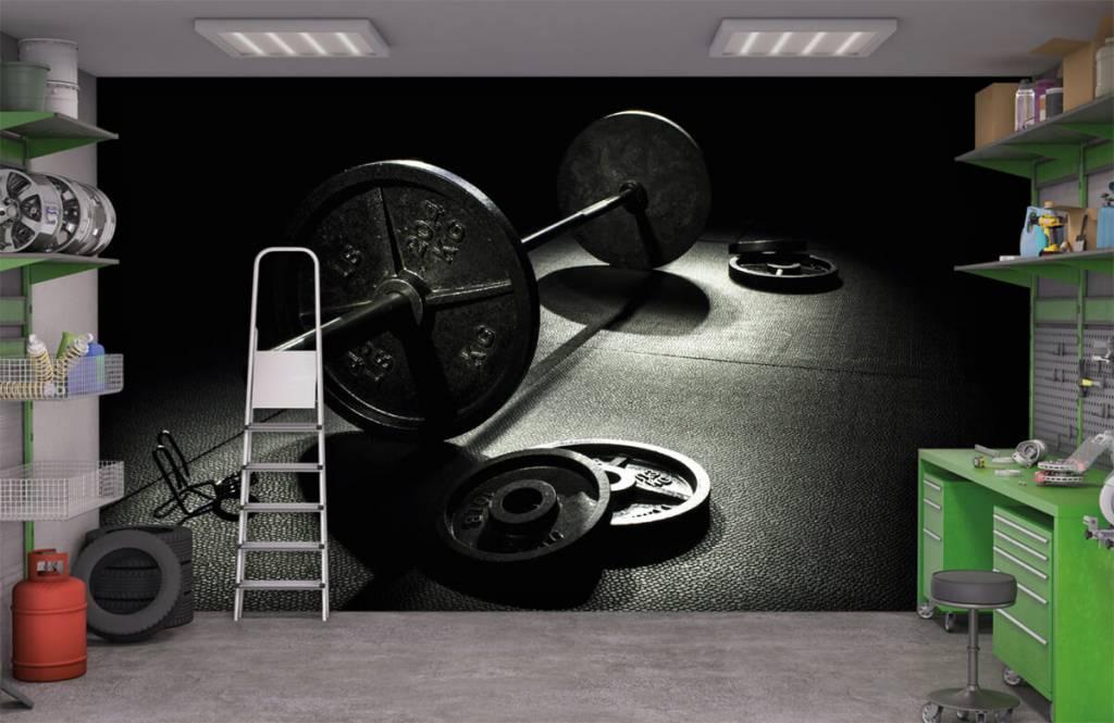 Fitness - Hantel mit Gewichten - Hobbyzimmer 4