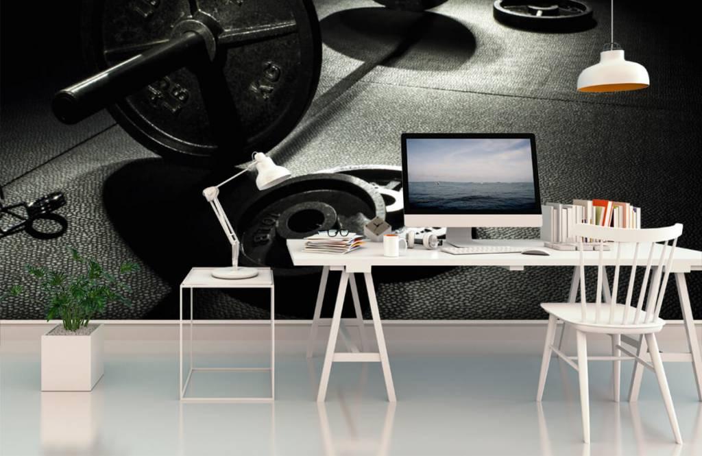 Fitness - Hantel mit Gewichten - Hobbyzimmer 6