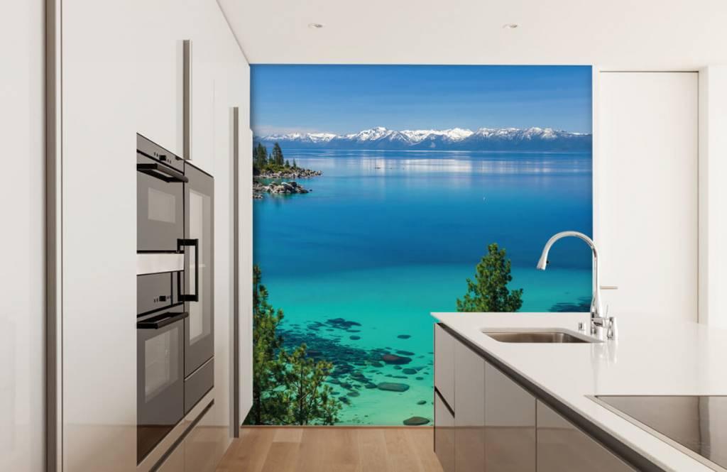Seen und Gewässer - Klares Meer - Flur 3