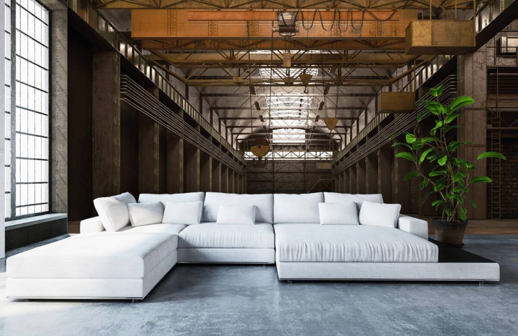 Gebäude - Industrielle verlassene Halle - Lagerhaus 1