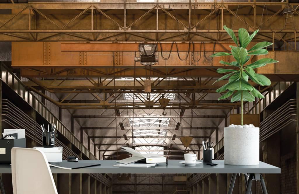 Gebäude - Industrielle verlassene Halle - Lagerhaus 2