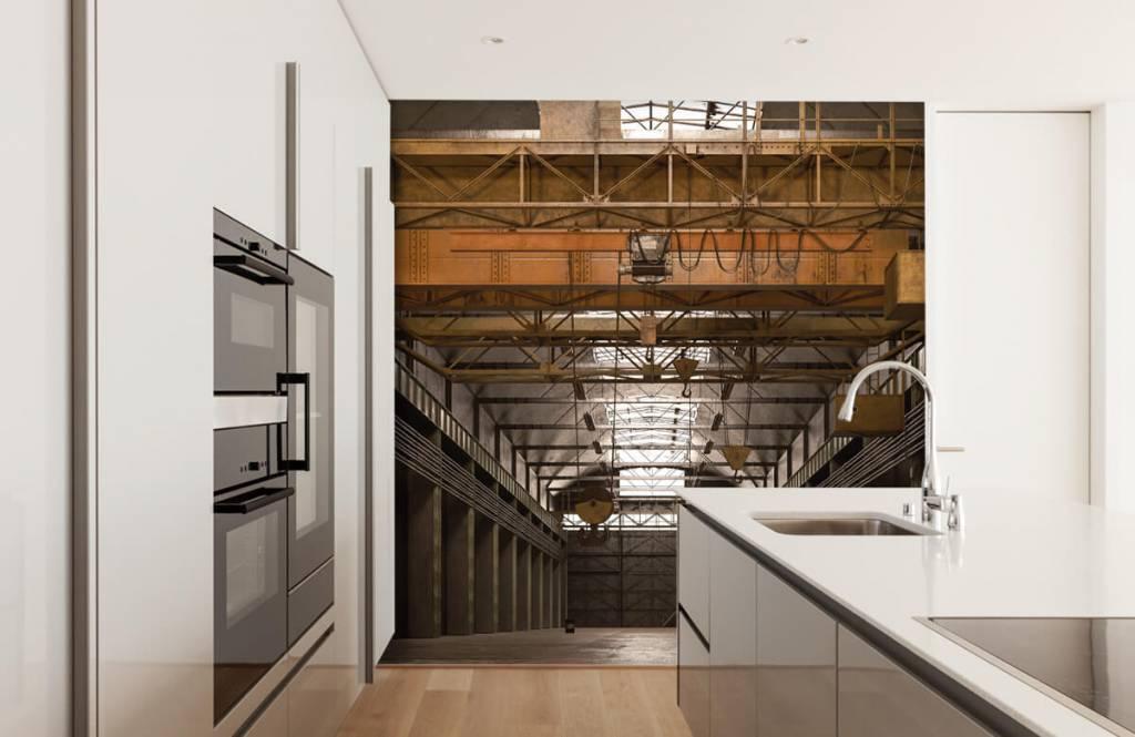 Gebäude - Industrielle verlassene Halle - Lagerhaus 5
