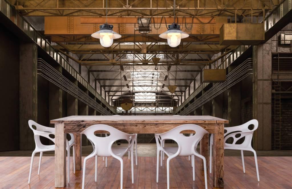 Gebäude - Industrielle verlassene Halle - Lagerhaus 6