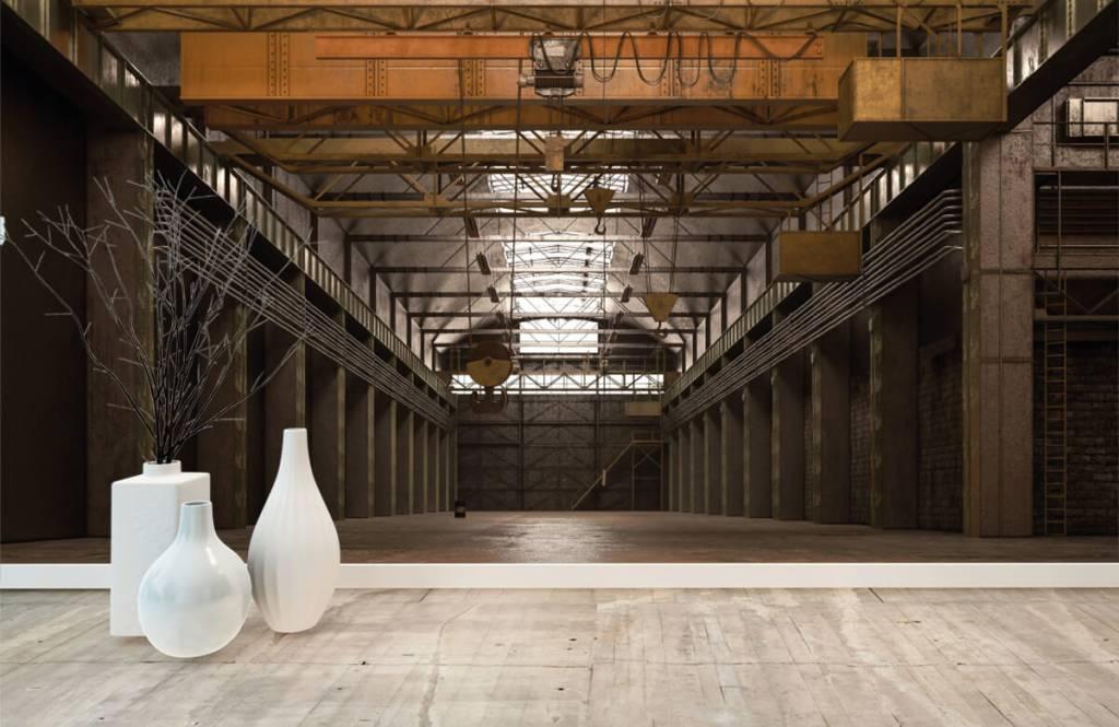 Gebäude - Industrielle verlassene Halle - Lagerhaus 7