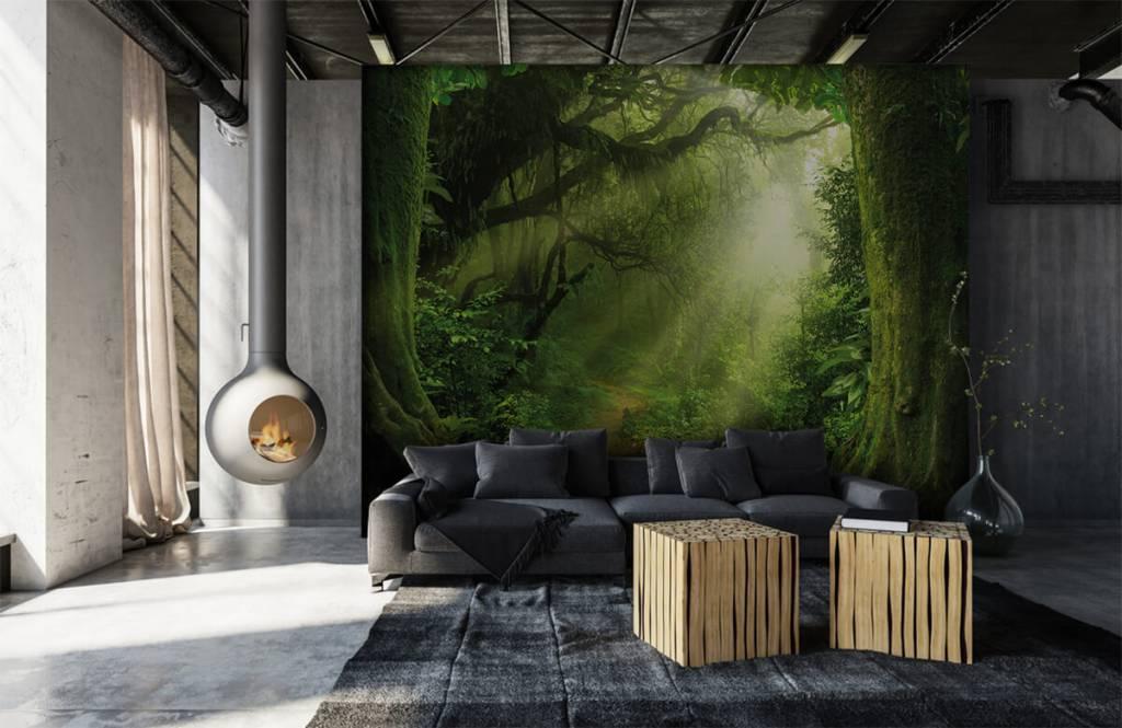 Bäume - Dschungel Sonne - Schlafzimmer 7