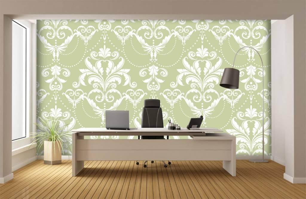 Barock Tapete - Klassiches Muster - Schlafzimmer 3