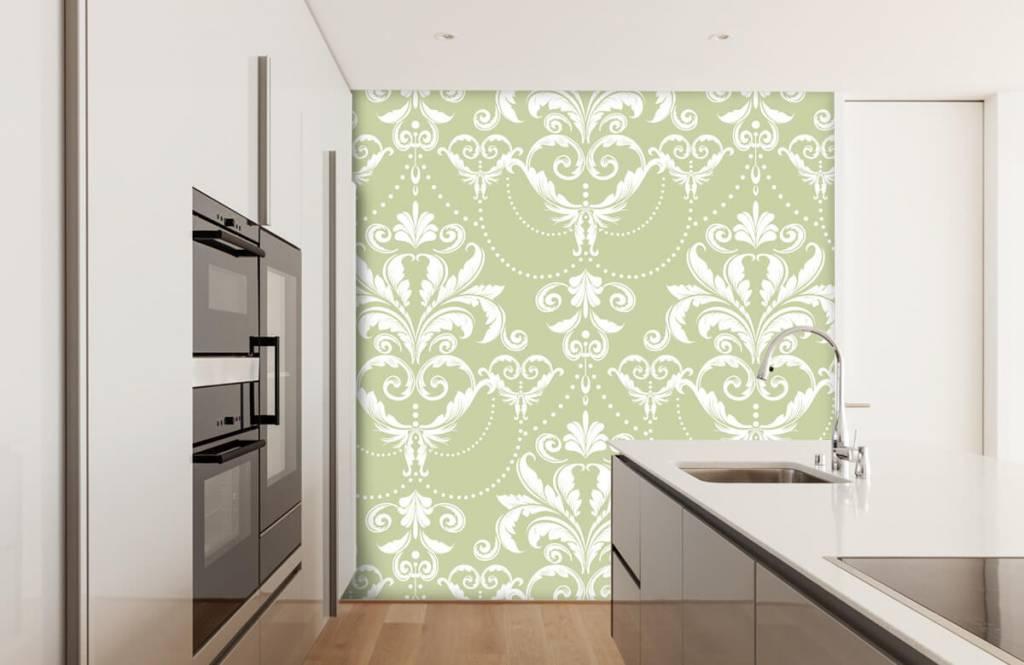 Barock Tapete - Klassiches Muster - Schlafzimmer 4