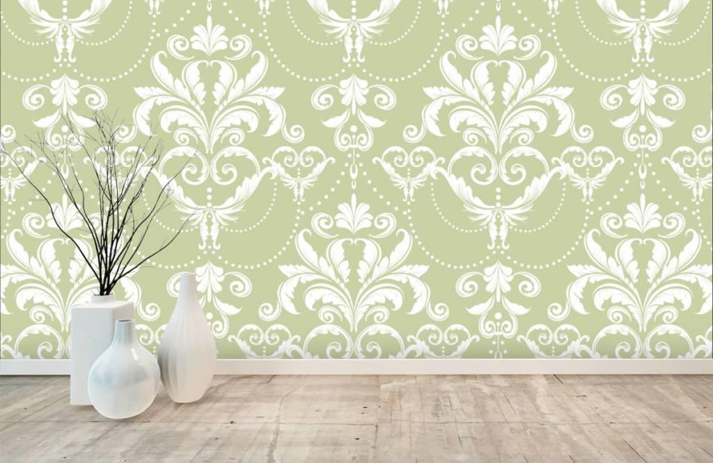 Barock Tapete - Klassiches Muster - Schlafzimmer 7