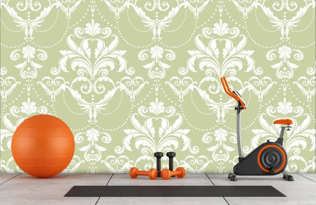 Barock Tapete - Klassiches Muster - Schlafzimmer 8