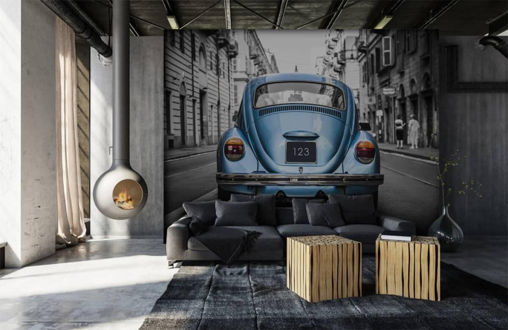 Verkehrsmittel tapete - Käfer in der Straße - Jugendzimmer 2
