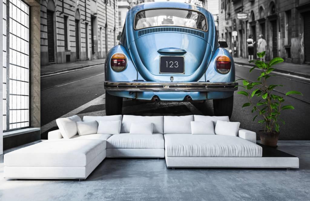 Verkehrsmittel tapete - Käfer in der Straße - Jugendzimmer 3