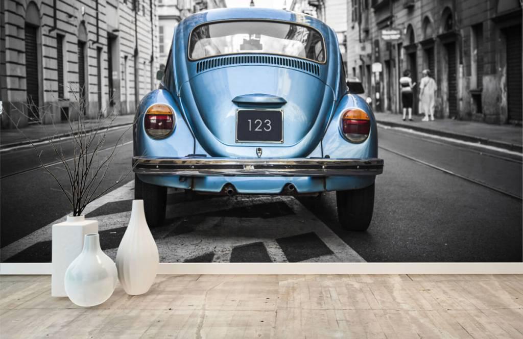 Verkehrsmittel tapete - Käfer in der Straße - Jugendzimmer 5