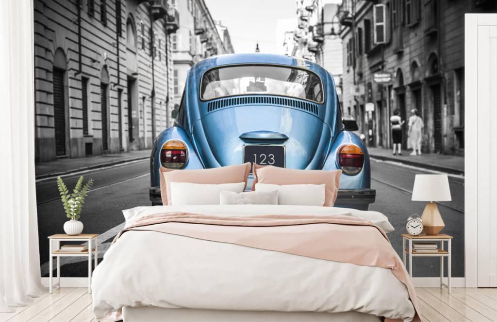 Verkehrsmittel tapete - Käfer in der Straße - Jugendzimmer 6