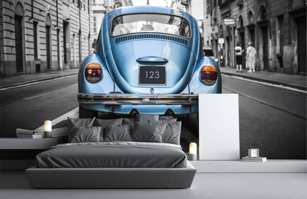 Verkehrsmittel tapete - Käfer in der Straße - Jugendzimmer 7